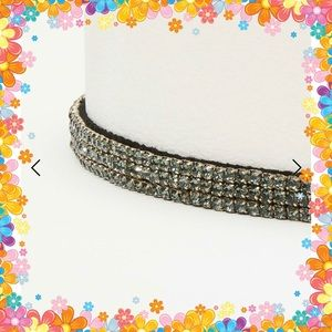 LOFT crystal waist belt BNWT